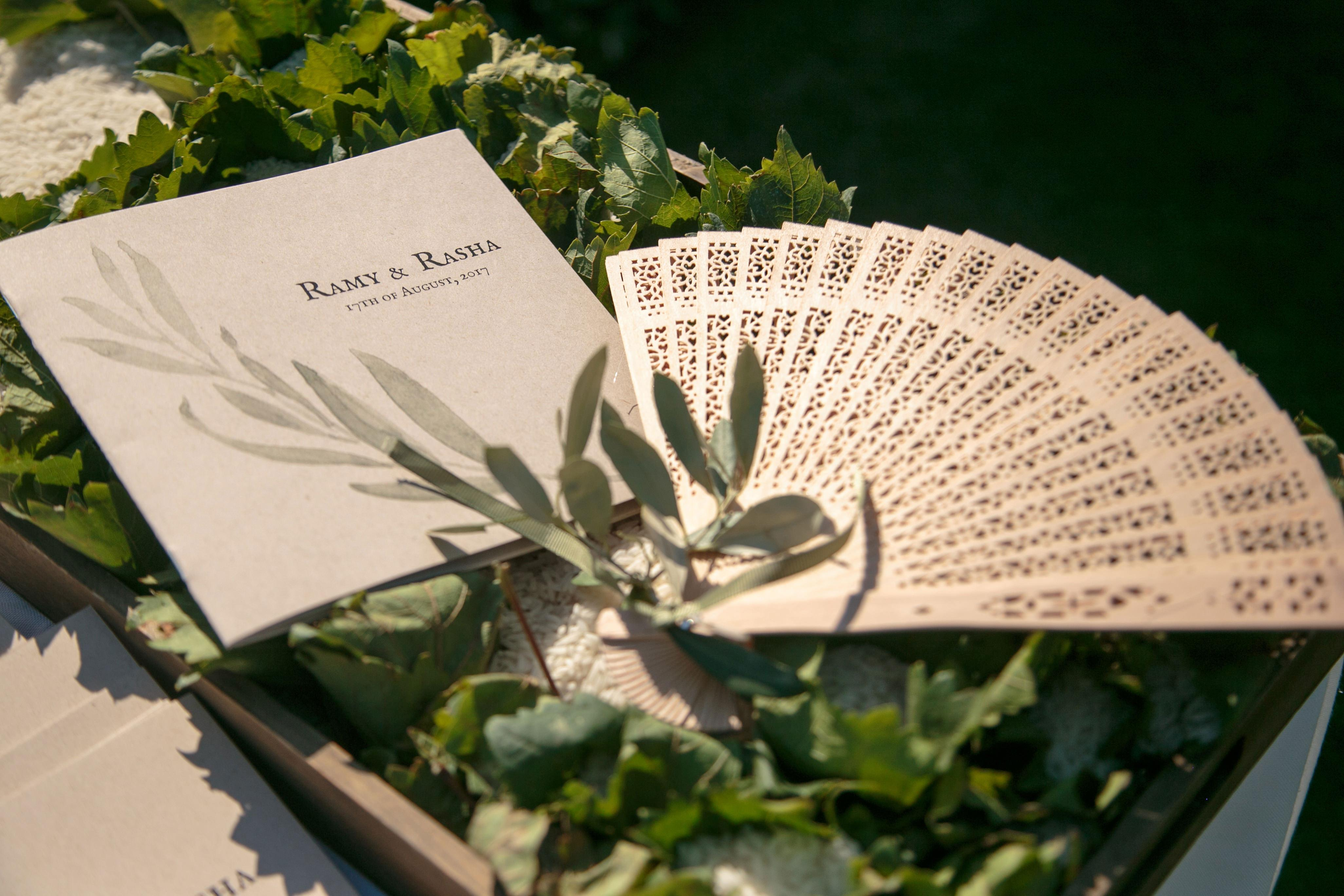 A rustic Mediterranean olive leaf wedding on the Athens Riviera