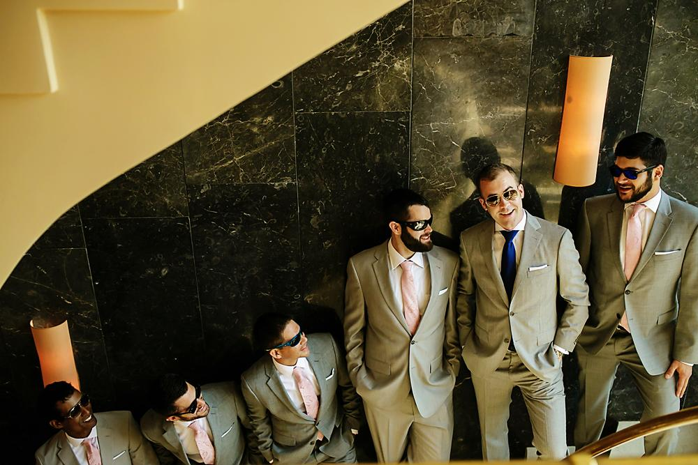 best men destination wedding Greece