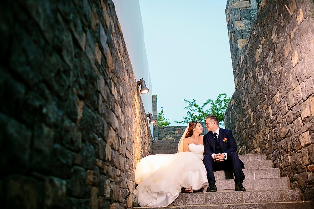 Resort destination wedding in Greece