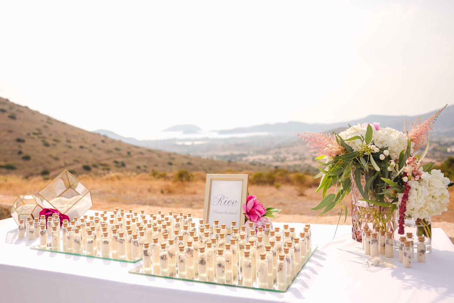 Pink and Fuchsia destination wedding