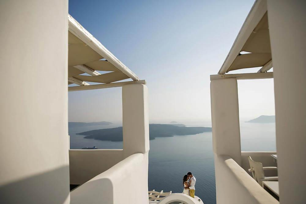 wedding planning in greece Santorini island